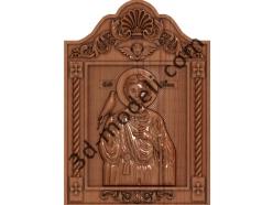 210 Икона Святой Трифон - 3d модели для ЧПУ - stl, art, rlf