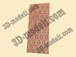 005 3D панель - 3d модели для ЧПУ - stl, art, rlf