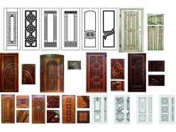 SP№15. Вектора Дверей и дверных накладок для ЧПУ 514шт - 3d модели для ЧПУ - stl, art, rlf